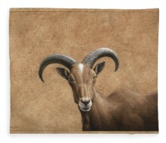 Barbary Ram Fleece Blanket