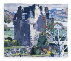 Barcaldine Castle Fleece Blanket