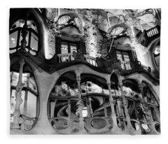 Barcelona - Casa Batllo Fleece Blanket