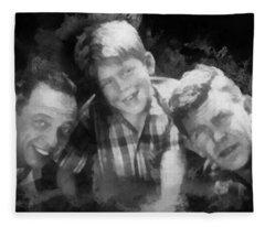 Barney Opie And Andy Fleece Blanket