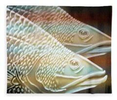 Barramundi Fleece Blanket