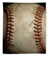 Baseball Seams Fleece Blanket
