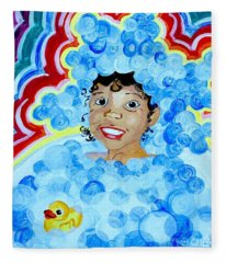 Bath Time Fleece Blanket