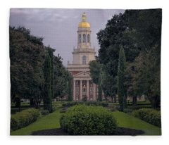 University Tower Fleece Blanket