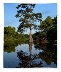 Bayou Reflections Fleece Blanket