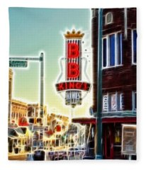 Bb King Club Fleece Blanket