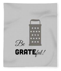 Be Grateful Fleece Blanket