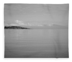 Be Still My Ocean  Fleece Blanket