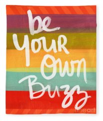 Typography Fleece Blankets