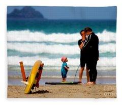 Beach Baby Fleece Blanket