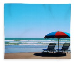 Beach Dreams Fleece Blanket