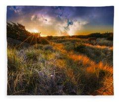 Beach Dunes Fleece Blanket