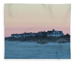 Beach Houses Fleece Blanket