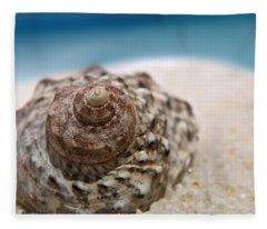 Beach Treasure Fleece Blanket