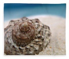 Beach Treasure Fleece Blanket