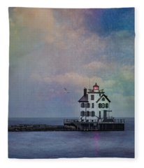 Beacon Of Light Fleece Blanket