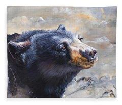 Four Winds Bear Fleece Blanket