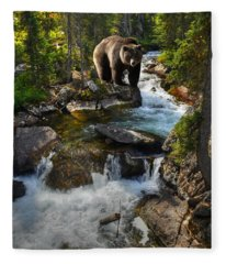 Bear Necessity Fleece Blanket