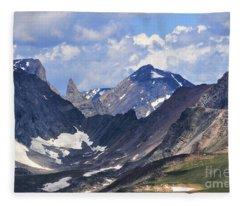 Beartooth Mountain Fleece Blanket