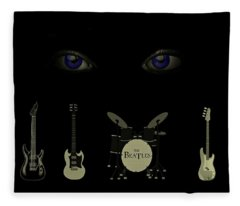 Beatles Something Fleece Blanket