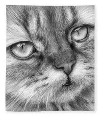 Beautiful Cat Fleece Blanket