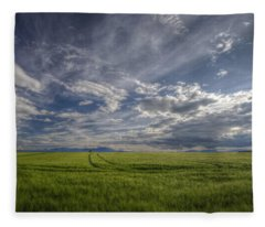 Beautiful Countryside Fleece Blanket