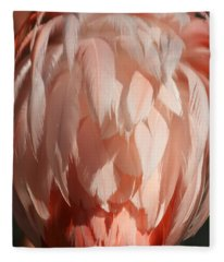 Beautiful Feathers Fleece Blanket