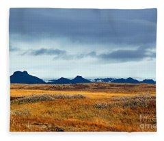 Beautiful Iceland Fleece Blanket