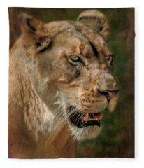 Beautiful Kaya Fleece Blanket