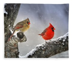 Beautiful Together Fleece Blanket