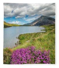 Beautiful Wales Fleece Blanket