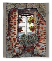 Beauty After Destruction Window Art Prints Fleece Blanket
