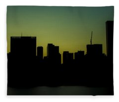 Beauty Of The Night Fleece Blanket