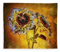 Bees To Honey Fleece Blanket