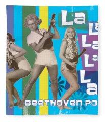 Beethoven Pop Fleece Blanket