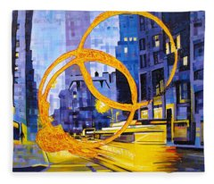 Before These Crowded Streets Fleece Blanket