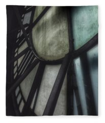 Behind The Clock - Emerson Bromo-seltzer Tower Fleece Blanket