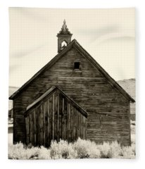 Behind The Steeple By Diana Sainz Fleece Blanket