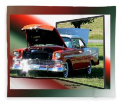 Bel Air 1950s-featured In Manufactured Items Group Fleece Blanket