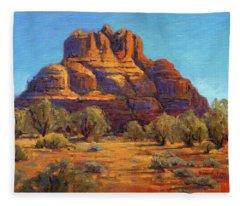Bell Rock, Sedona Arizona Fleece Blanket