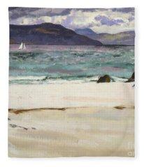 Ben Bhuie From The North End   Iona Fleece Blanket
