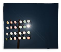 Beneath Friday Night Lights Fleece Blanket