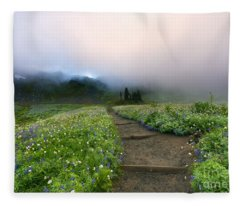 Beneath The Heavens Fleece Blanket