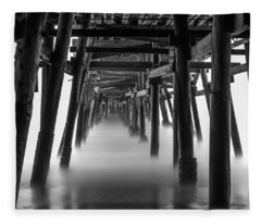 Beneath The Pier Fleece Blanket