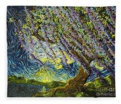 Beneath The Willow Fleece Blanket