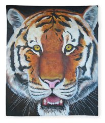 Bengal Tiger Fleece Blanket