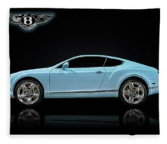 Bentley Blues Fleece Blanket