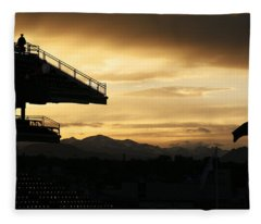 Best View Of All - Rockies Stadium Fleece Blanket