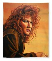 Bette Midler Fleece Blanket