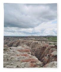 Big Badlands Overlook Fleece Blanket